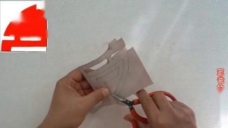 寿圆满剪纸, 这个剪纸将寿字设计成圆形图案, 寓意寿圆满!—教育—视频高清在线观看-优酷1