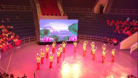 表演单位:长航集团艺术团,舞蹈《彩云追月》