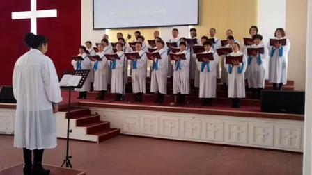 239耶稣爱我歌____牟平基督教堂圣诗班献唱