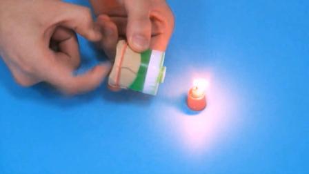 小学生dyi手工制作科普玩具土电话