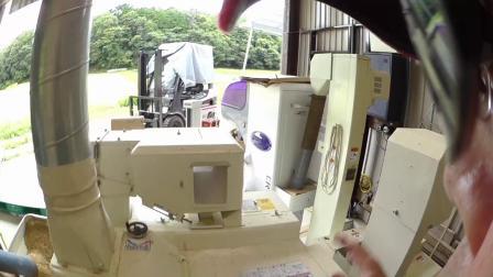 6,12 籾摺り作業 固定カメラとウェアラブル