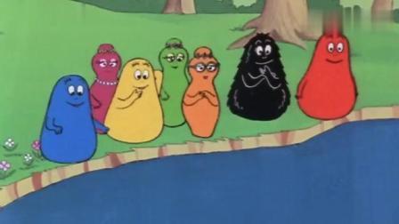 巴巴爸爸2:巴巴全家都变成了鱼乌龟还有青蛙,海底游玩开心哦