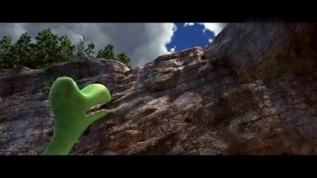 恐龙当家:侏儒恐龙跟野人小孩的对决,可是决斗的方式好温柔哦