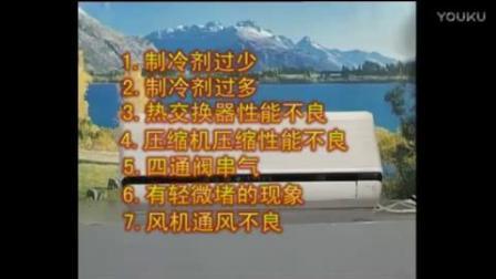 空调维修培训正版视频教程全集7-3空调制冷、制热效果不好_标清 00_00_06-00_09_45