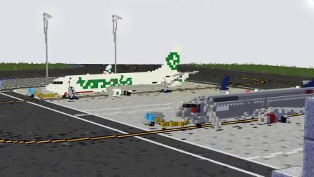 我的世界动画-波音737-JordanCO_ TV