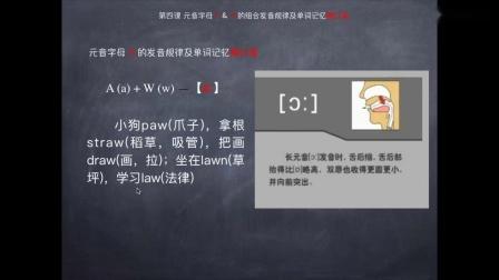 """(课程连载) 这个老师太""""绝""""了, 把小学英语单词编成顺口溜一次全记住, 第四集_超清"""