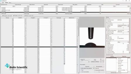 Attension Theta接触角测量仪原理和应用