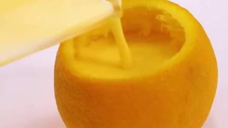 一颗励志橙的逆袭-橙香布丁用橙子蒸出来的布丁,口感就是不一样