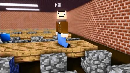 我的世界动画-食物大战-Iron Axe Animations