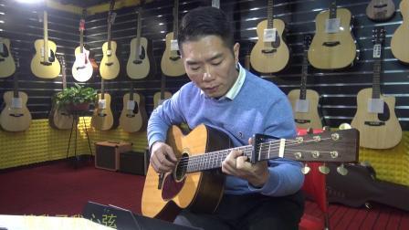 吉他自弹自唱《盗将行》深蓝雨吉他演奏讲解教学