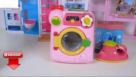 婴儿娃娃粉红自动售货机饮料洗衣机玩具苏打
