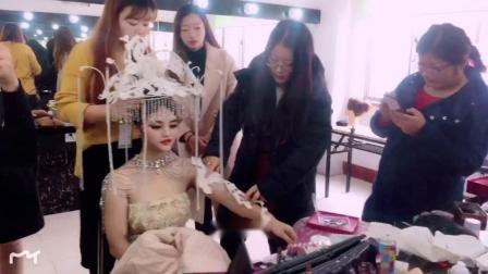 潍坊化妆培训学校小乐美妆造型创意妆分享