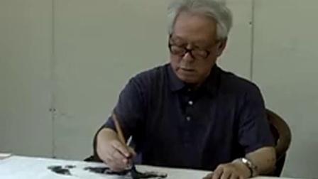 贾宝珉教授写意花鸟《山谷幽情》
