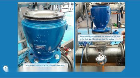 C70空气阀低压密封工作性能-BERMAD Air Valves C70 low pressure sealing