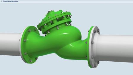 700ES系列阀门在线式维护驱动装置700ES Inline Serviceable Actuator