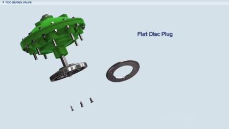 700ES系列阀门V型节流塞 700ES V Port Plug
