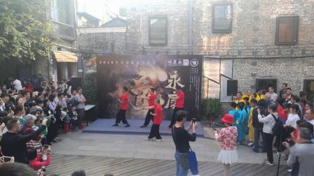 黎钊华师傅率众弟子助力咏春文化节