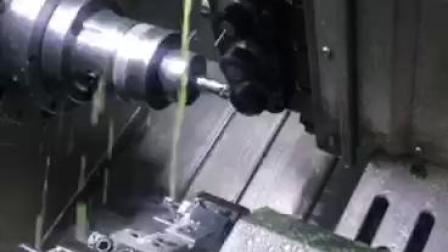 车铣复合加工视频-精弗斯-球刀铣椭圆异形孔