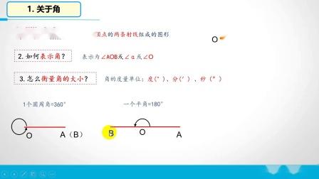 4.3 角的比较与运算