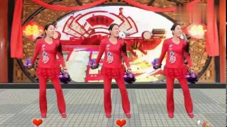 代玉广场舞《新年大吉旺旺旺》新年到了送你一支发财舞让你旺旺旺