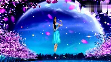 夕陽美广场舞《雨中的思念》