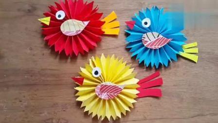 DIY纸鸟-儿童DIY生日装饰-最佳DIY工艺