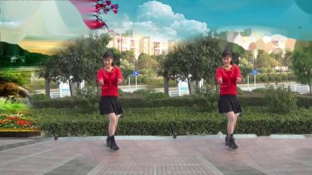 坪上广场舞《九妹》网红摆胯32步原创教学