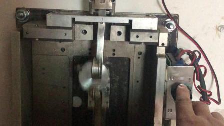 自己改装的玉雕线切割机,安装调试中!