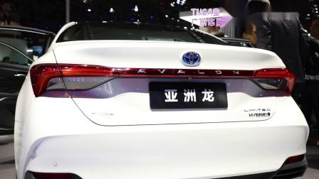 一汽丰田携全系车型亮相广州车展 亚洲龙AVALON中国首秀