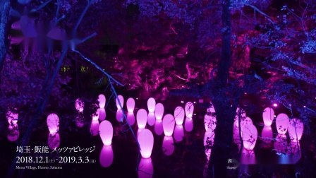 teamLab 森林与湖泊的光之祭典 / teamLab: Digitized Lakeside and Forest