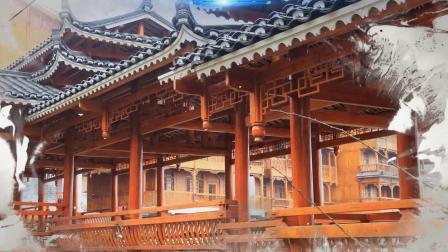 快看!木屋建筑视频:贵州吊脚楼木屋是这样建起来的。