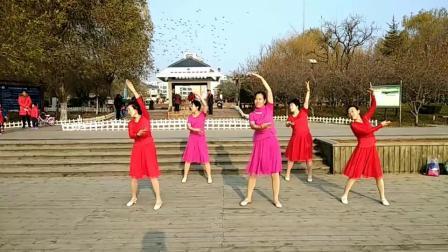 冰雪之恋广场舞《今生的唯一》动作非常优美