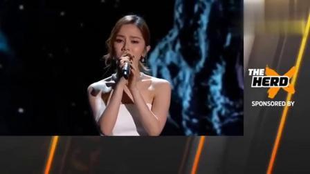 首位华人歌手邓紫棋在美国NASA颁奖礼献唱《光年之外》,厉害了