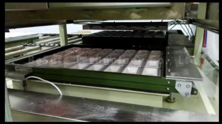 必硕科技——纸浆模塑设备纸餐具半自动覆膜机