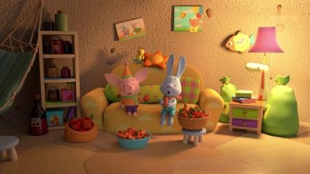 原来神秘洞穴里的根本就不是怪物,而是吃胡萝卜的小兔子啊