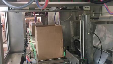 纸箱开箱内袋自动套袋机械