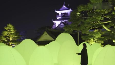 呼応する、たちつづけるものたちと木々,呼吸し呼応する石垣 – 高知城 ,呼応する高知城