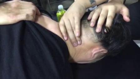 中医理筋拨筋培训视频~王文浩老师杨氏理筋治疗头部疼痛手法实操