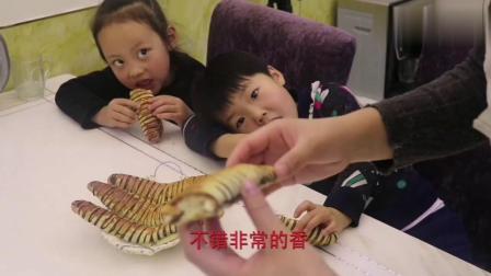 网红毛毛虫面包,手把手教你做,大人小孩都爱吃!