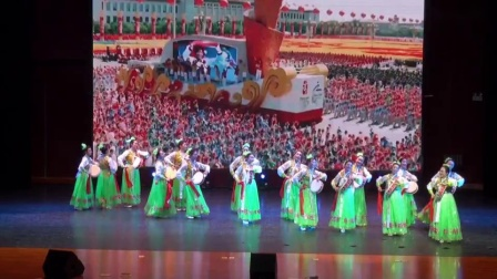 盛世鼓韵,烟台市文化志愿者舞蹈团