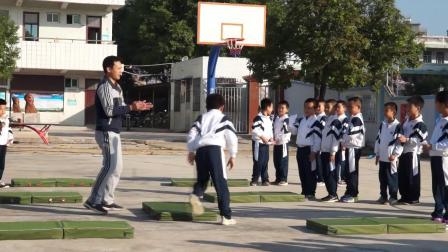 饶平县浮山镇中心小学王明荣老师三年級體育优质课视频