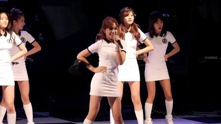 韩国女团Apink性感舞姿,漂亮的小姐姐,裙子好短