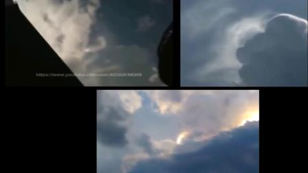 天空中的UFO视频集锦,眼见为实