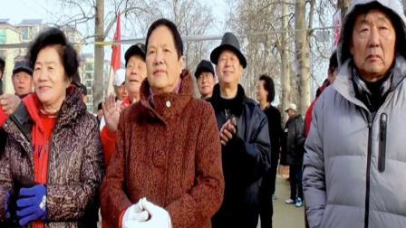唐山幸福花园空竹站迎2019联谊活动