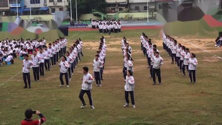 2018年12月1日上思县实验中学课间操比赛初三3班