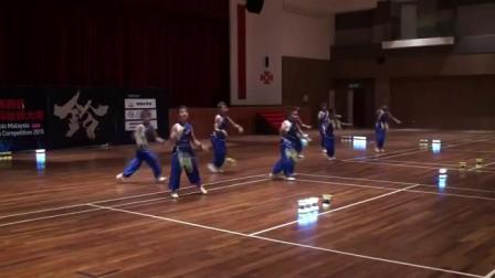 台灣之光 後龍國小扯鈴隊 2015馬來西亞國際扯鈴大賽 冠軍比賽影片