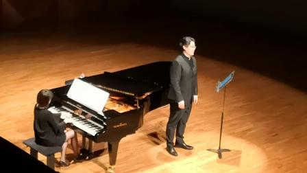 沈洋 星海音乐学院《冬之旅》音乐会—《晚安》