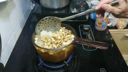 〈 職人吹水〉 補腦 滋潤 就係咁簡單 蓮子百合雪耳圓肉合桃雞蛋糖水Chinese Walnut Egg Sweet Soup 中英文字幕