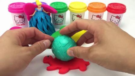 亲子早教益智,用橡皮泥制作好多可爱小东西,超有创意