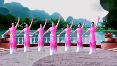 北京密云悠闲广场舞《金凤吹的时候》